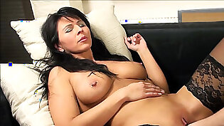 German mature mother fisting from her son