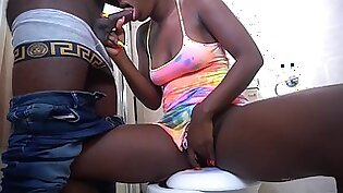 Young thicc African Maid taken advantage of