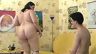 Young pregnant chubby big natural breast teen gets rough fist fucked by her boyfriend