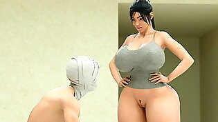 Busty Boobs Fucked By People - Best Animation 3D