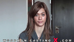 woodman casting X hot babe ready for porn for the first time