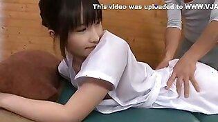 Exotic Japanese model Maki Hojo, Satomi Kobayashi, Mirei Kazuha in Hottest Small Tits JAV clip