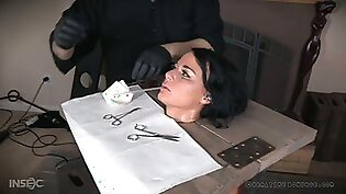 Real whore London River gets her pussy punished by one kinky dude