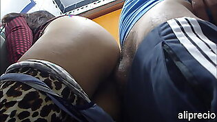 Stepbrother fucks me in the ass in bathroom with hidden camera