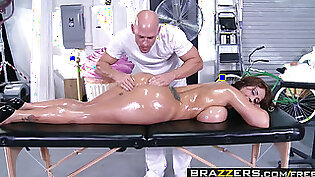 Brazzers   Dirty Masseur   Eva Notty Johnny Sins   Huge Tits on the Receptionist